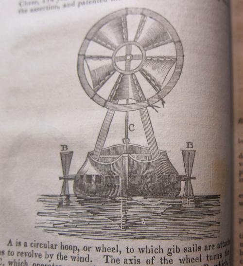 JFI 1830 circular fan sail