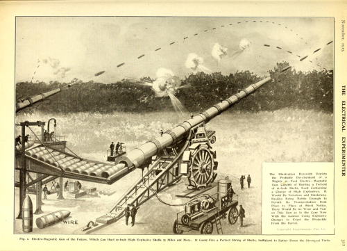 Electrical experimenter 1915 long gun