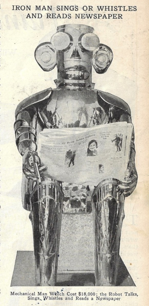 Pop Mech 1932 robot mechanized iron man _3_