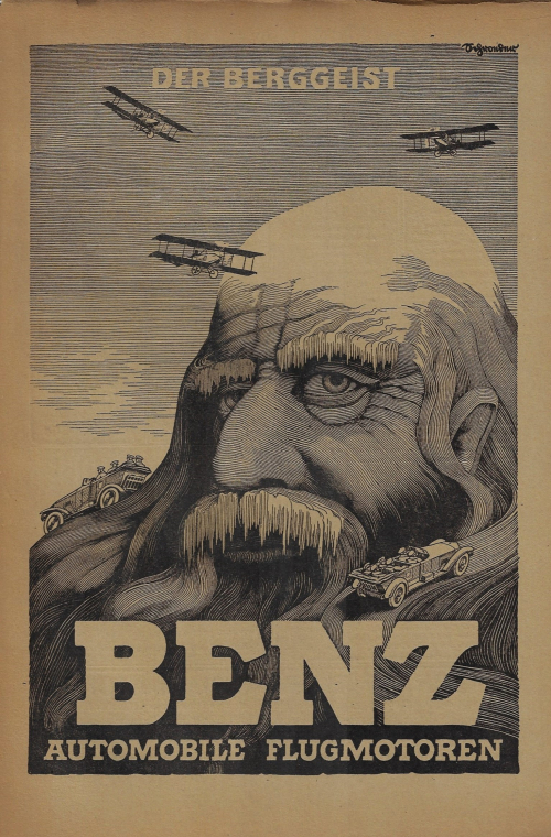 Ads Benz 1917 Mountain HEad