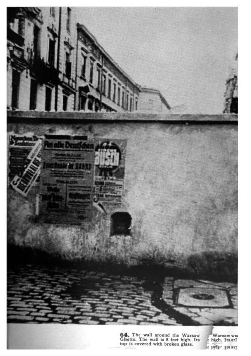 Warsaw ghetto Black Book 1942
