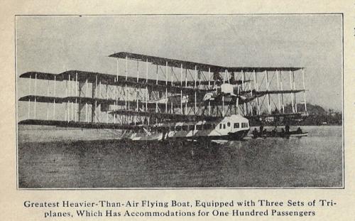 Illus world caproni flyer 1921