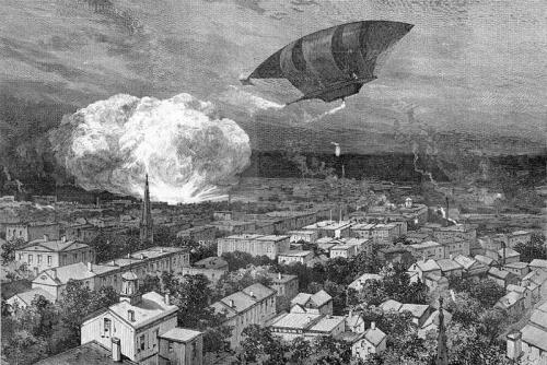 Dynamite War Balloon