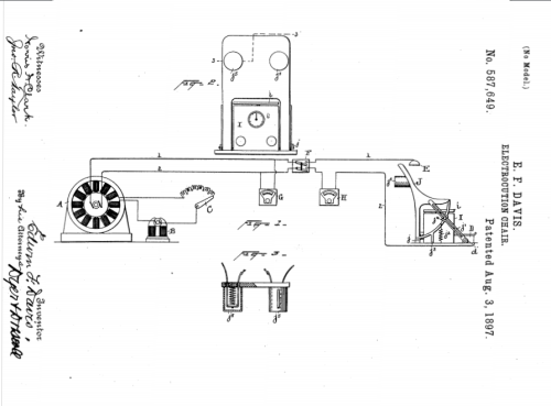 Electric chair patent