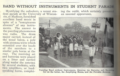 Pop Mech 1922 marching band