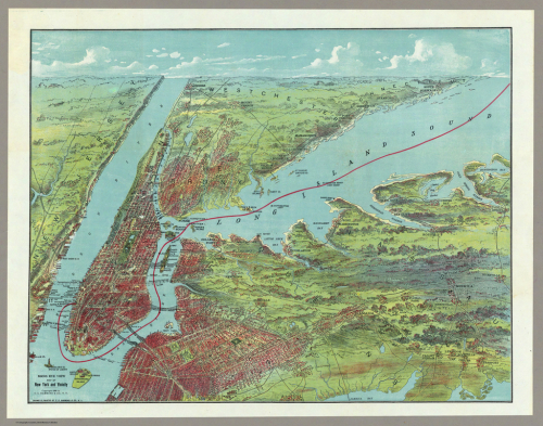 Brooklyn Birds Eye 1909
