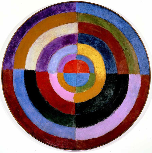 Delaunay _1913 _Premier_Disque _134_cm _52.7_inches _Private_collection