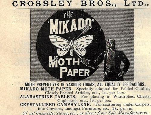 Nature 1896 Moth paper