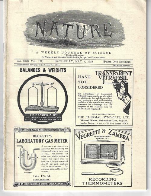 Nature 1928 Raman