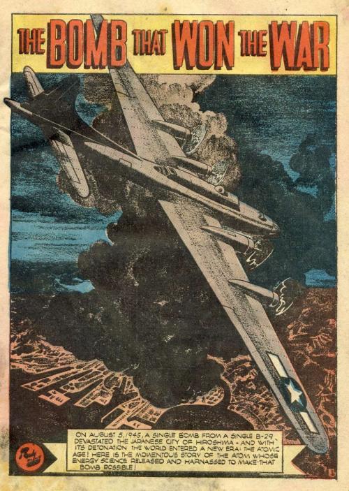Comic book hiroshima 1946