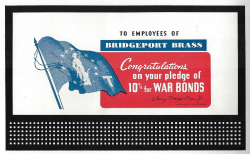 Bombing Poster 10 percent war drive billboard