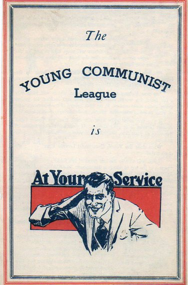 Books cover young communist