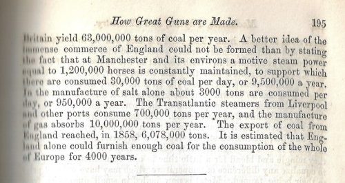 JFI 1859 supply of coal