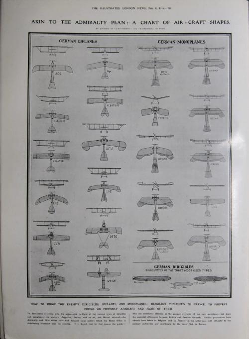 WWI German aircraft 1915