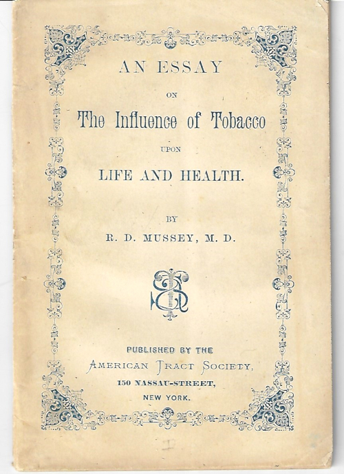 Tobacco and essay on Mussey