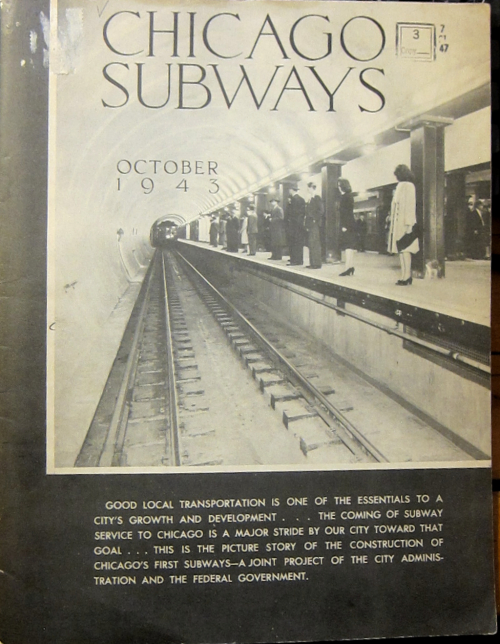 Chicago subways 1943 cover