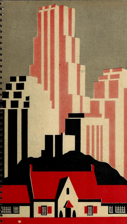 Books covers USG cityscape