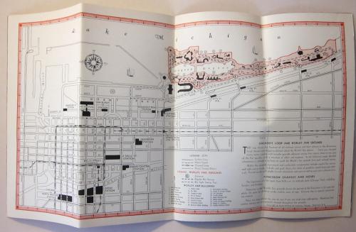 Chicago Maps B& O RR _1_