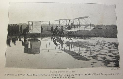 Triumph of the air Voisin Farman