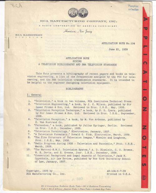 Tv bibliography