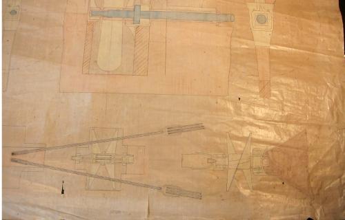 Esk propeller side detail