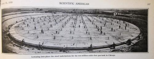 Sci AM 1920 tank base