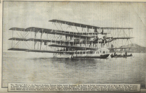 Pop Mech 1921 massive flying boat caproni _2_
