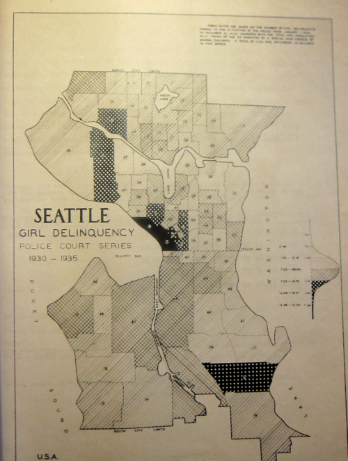 Seattle Juvenile map