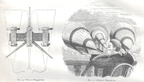 Nature 1878 Edison megaphone