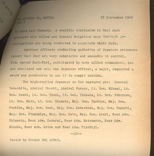 Japanese surrender 25 September Yamashita _2_