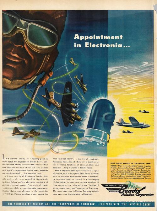 Electronic brain LIFE 1944