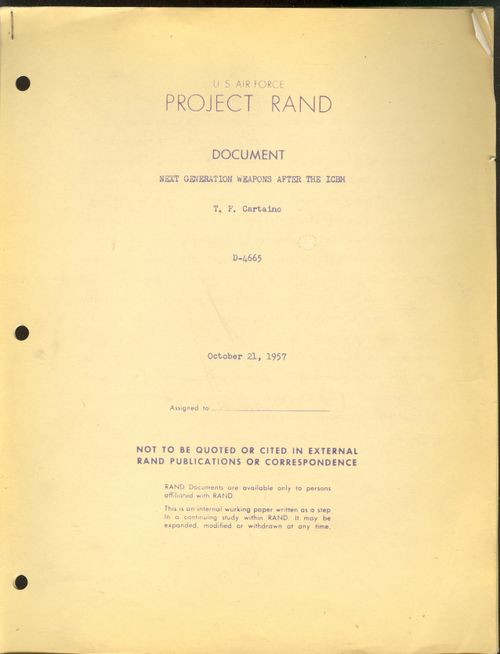 RAND ICBM 1957