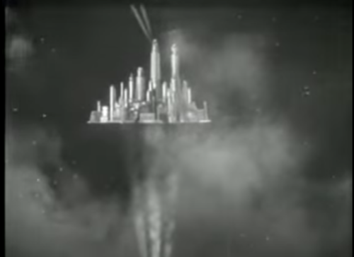 Floating cities flash gordon