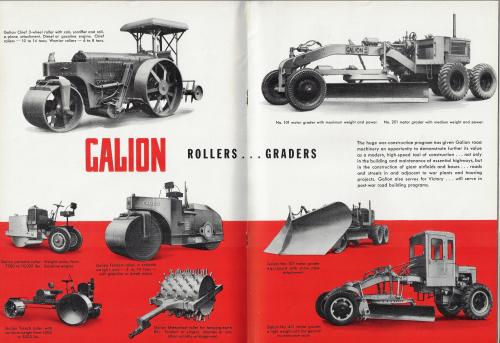 Road graders heavy equipment 1943