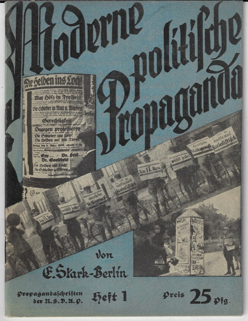 Books covers nazi propaganda