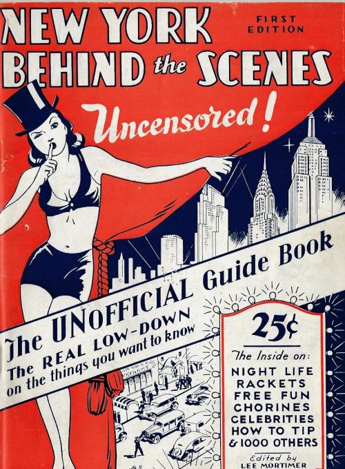 NYC Behind scenes cvrs 1938