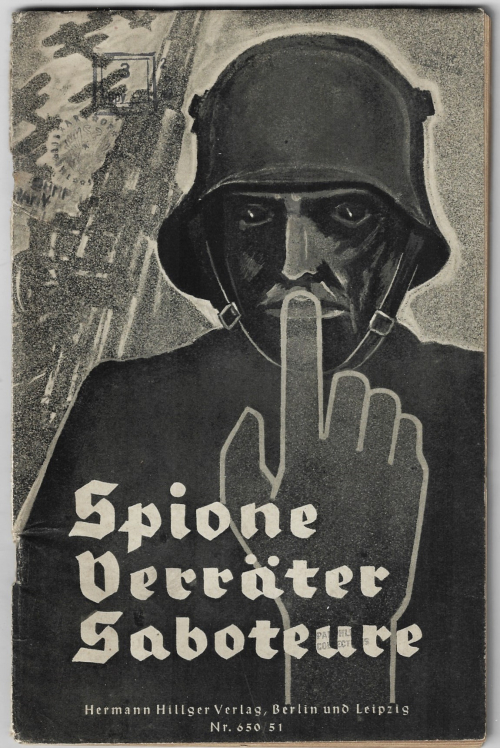 WWII German spy cover