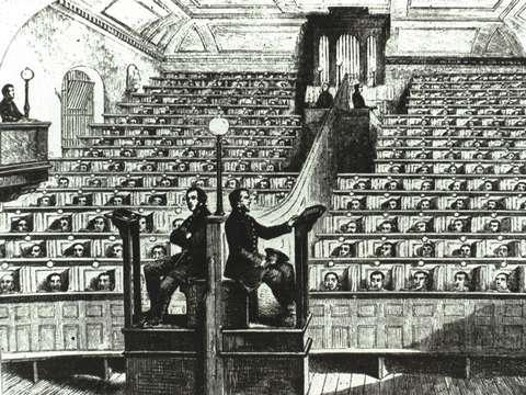 Prison chapel Pentonville