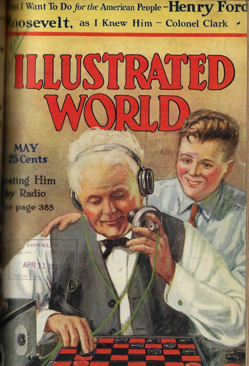 Illus World 1922 radio checkers