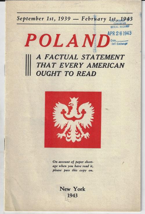 Poland  factual statement