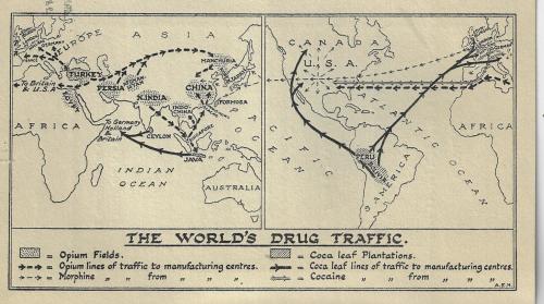 World Dope menace map