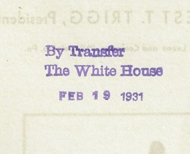 Books covers chamber commer 1931 white house