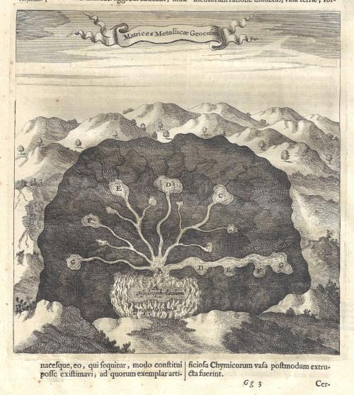 Kircher matricies metalicae detail