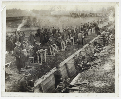WWI Photos rifle practice