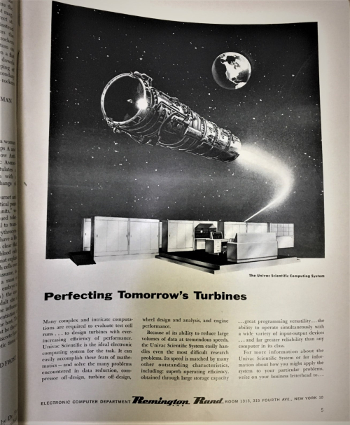Sci Am 1955 TUrbine UNIVAC