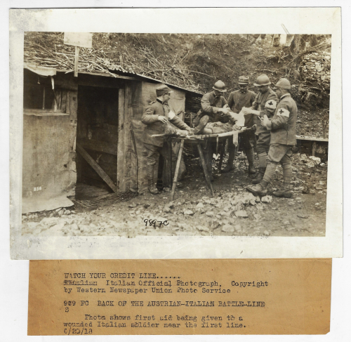 WWI Photo field hospital _1_