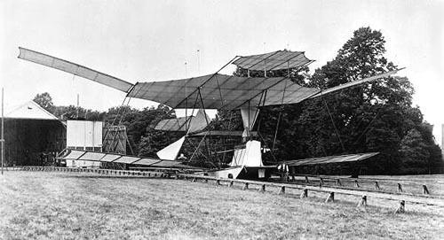 Maxim aeroplane