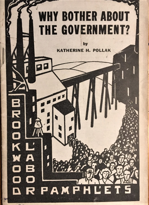 Books covers why bother the government