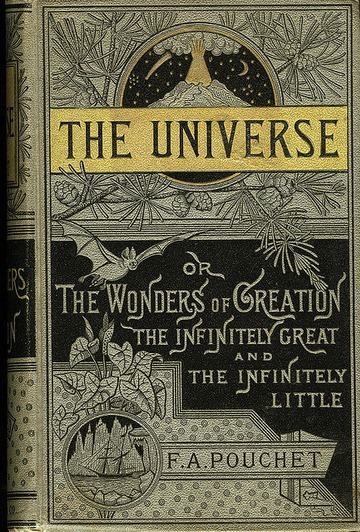 Books covers the universe pouchet