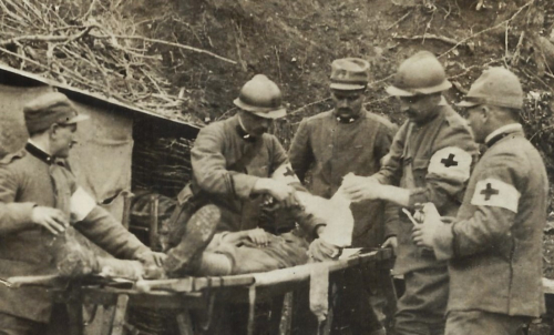 WWI Photo field hospital _2_
